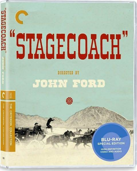 CRITERION COLLECTION: STAGECOACH (B&W) - BLURAY - Region A - Sealed