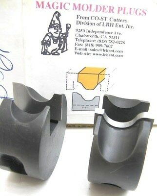 Lrh Magic Molder Plugs P-61 N-61 Table Saw & Shaper Cutter Carbide Tip Panel