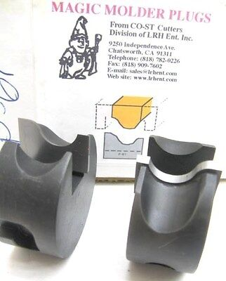 Lrh Magic Molder Plugs P-61 N-61 Table Saw & Shaper Cutter Carbide Tip Panel