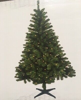 6' Pre-Lit Ashford Spruce Christmas Tree Clear LED #C3 CLEARANCE