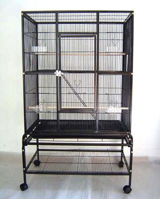 """Everila Bird Parrot Cage Bar Spacing 3/8"""" Cockatiel Conure Sugar Glider Ferret"""