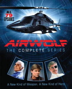Airwolf: The Complete Series 1 2 3 4 Collection Box Set 1-4 | New | Sealed | DVD