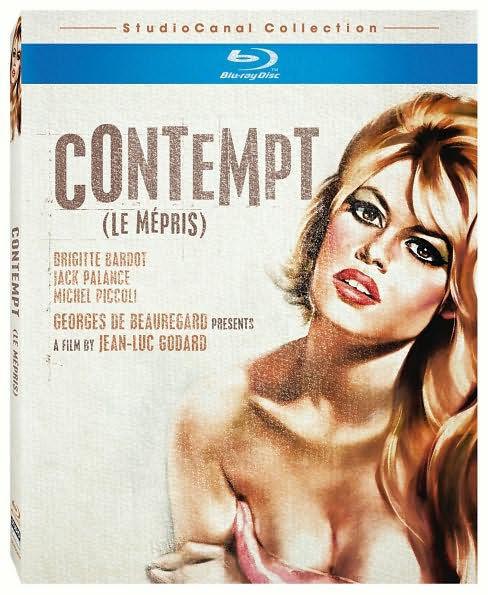 CONTEMPT (Brigitte Bardot) - BLU RAY - Region A - Sealed