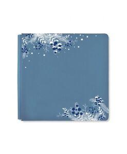 Creative Memories 12 x 12 Album Blue Shimmer Glacier True Size Coverset Retired