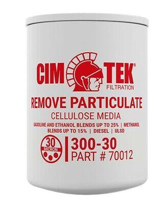 Cim-tek 70012 30 Micron Fuel Filter For Fuel Dispensers