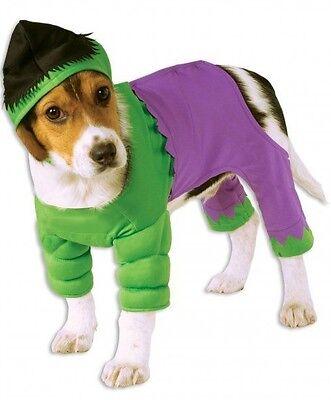 Haustier Hund Katze Incredible Hulk Superhelden Halloween Kostüm Outfit