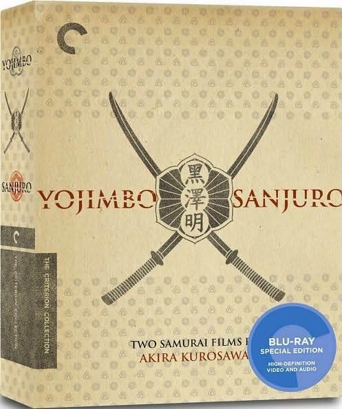 CRITERION COLLECTION: YOJIMBO & SANJURO (2PC) - BLURAY - Region A - Sealed