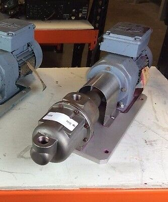 Moyno 500 Progressive Cavity Pump Model 33104 W Sew-eurodrive