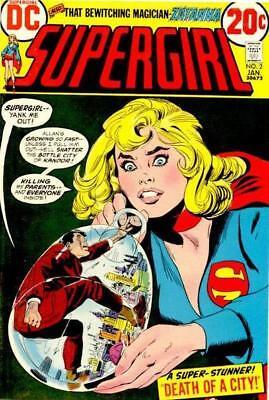SUPERGIRL #2 F, ZATANNA, Bob Oksner C, DC Comics 1973