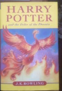 4 HARRY POTTER HARD COVER BOOKS-2 CDN 1ST EDITIONS