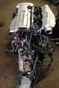 Toyota 4A GE Silver Top Engine With 5 Speed Trany Harness & Ecu.