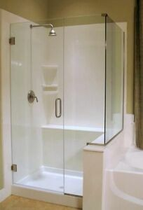 Shower Bases ,Shower Walls Vanity Tops and More Cambridge Kitchener Area image 4