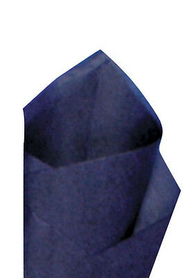24 Sheets Pack 20 X30 Midnight Blue Quality Premium Grade Color Tissue Paper