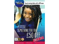 £50 off in July at Explore Learning High Wycombe!
