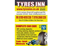 NEW TYRE PARTWORN TYRE BRAKES SERVICES BODYWORK MOT REPAIR MECHANICAL DIAGNOSTIC AC RE-GAS