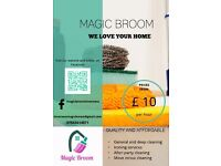 Magic Broom Domestic/Home Cleaning Services in Inverness