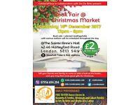 Book Fair + The Christmas Market