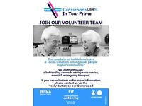 Volunteer Befrienders Needed