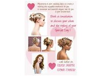 Wedding specialist and mobile hairdresser in Bournemouth and Poole.