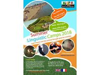 Volunteer English animator for Summer French youth camp