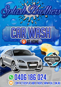 Splash Brother Waterless Carwash Fortitude Valley Brisbane North East Preview