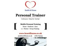 Mobile Personal Trainer Southampton | Hedge End | Fareham