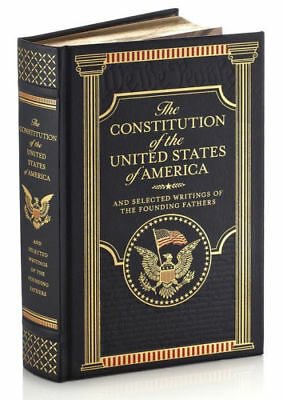 THE CONSTITUTION OF THE UNITED STATES OF AMERICA & WRITINGS ~LeatherBound GIFT~