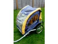 2 seater bike trailer £50 ono