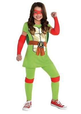 Nickelodeon Teenage Mutant Ninja Turtles GIRL RAPHAEL Halloween Costume - Nickelodeon Halloween Costumes