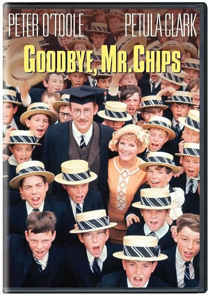 GOODBYE MR CHIPS (1969) / (RMST) - DVD - Region 1