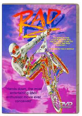 Rad Dvd  High Quality   1986 Widescreen Special Edition Bmx Movie New And Sealed