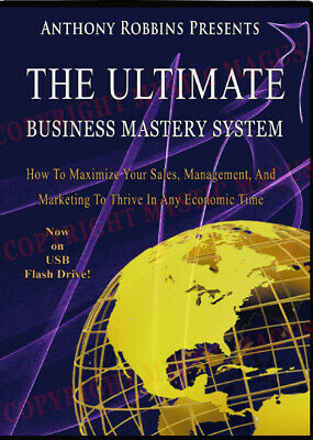 NEW! Ultimate Business Mastery System Complete. Tony Robbins, Chet Holmes