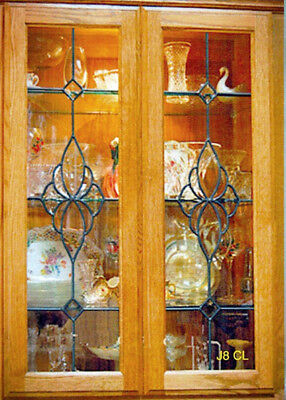 Beautiful Glass Kitchen Door Cabinet Inserts  Design # J8 CL