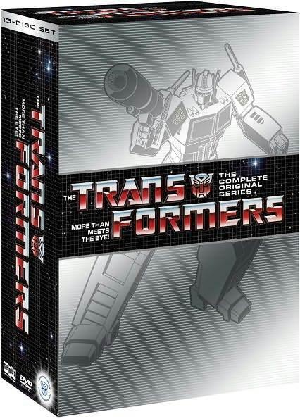 TRANSFORMERS: MORE THAN MEETS EYE: COMP SERIES - DVD - Region 1 Sealed