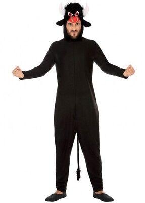 Costume Uomo TORO XL Animal Adulto Motivo Animato NUOVO a buon mercato