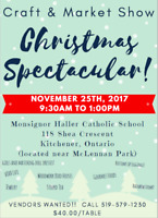 Christmas Spectacular Craft and Market Show!