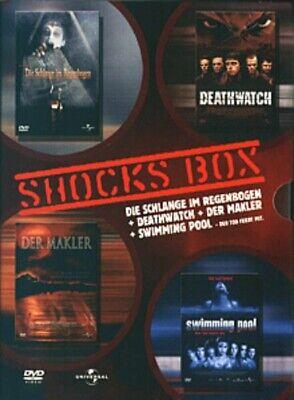 4DVD Box-Schlange im Regenbogen,Deathwatch,Der Makler und Swimming Pool UNCUT  ()