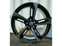 BRAND NEW 19'' AUDI RS7 ROTOR ALLOY WHEELS X4 BOXED 5X112 A4 A5 A6 A7 A8 Q3 VW