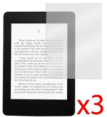 "Hellfire Trading 3x Amazon Kindle Paperwhite 6"" LCD Screen Protector Cover Guard"