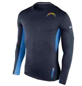 San Diego Chargers Nike Vapor Performance Long Sleeve T-Shirt Seacliff Park Marion Area Preview
