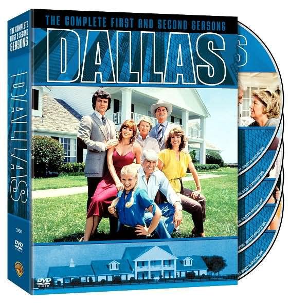 DALLAS: COMPLETE FIRST & SECOND SEASONS (5PC) - DVD - Region 1