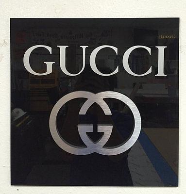 Gucci Logo Wall sign