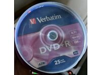 Over 1000 NEW SEALED BLANK DVD'S AND CD'S CD DVD DVD-R DVD+R