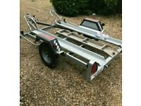 Motorcycle Trailer Erde 2 Bikes