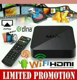 MXQ - ANDROID TV BOX - OFFER