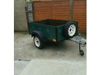 Trailer 5x3 car box trailer
