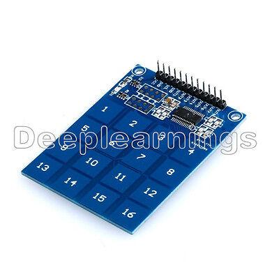 5 Pcs Arduino Ttp229 16 Channel Digital Capacitive Switch Touch Sensor Module