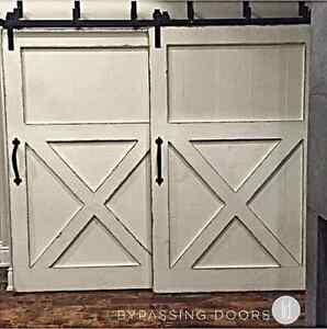 Sliding Modern Barn Style Doors, Sliding Hardware
