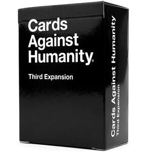 CARDS AGAINST HUMANITY EXPANSION THIRD EXPANSION - BOARD CARD GAMES 97701169