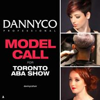 MODELS WANTED FOR TORONTO ABA HAIR SHOW THIS WEEKEND!